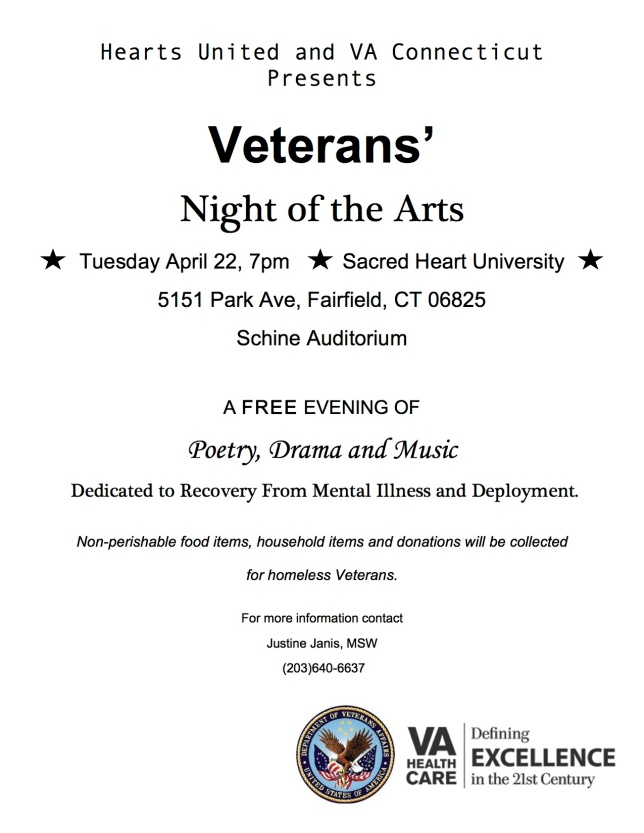 Veterans Night of the Arts