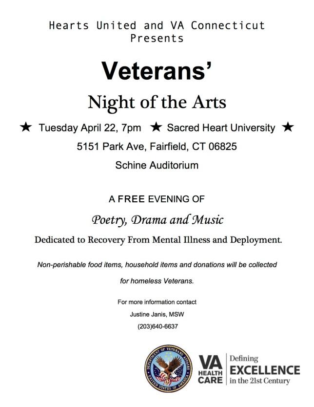 Veterans Night of the Arts